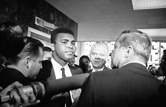 Muhammad Ali and Hayden Covington