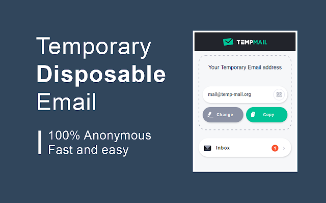 Temp Mail - Disposable Temporary Email