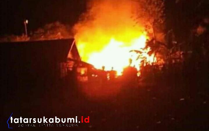 2 Rumah di Cikembar Sukabumi Terbakar