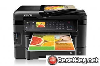 Reset Epson WorkForce WF-3530 Waste Ink Counter overflow error