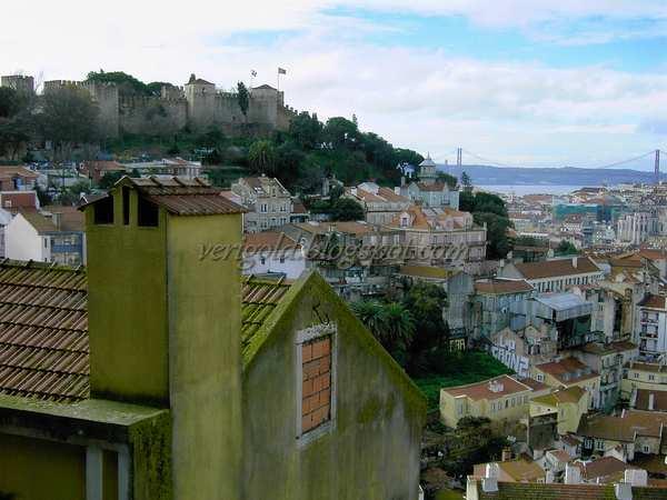 Вид на Замок с Miradouro da Graca