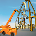 Roller Coaster Construction Simulator: Crane Games icon
