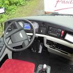 Het dashboard van de VDL Futura van Kupers bus 199