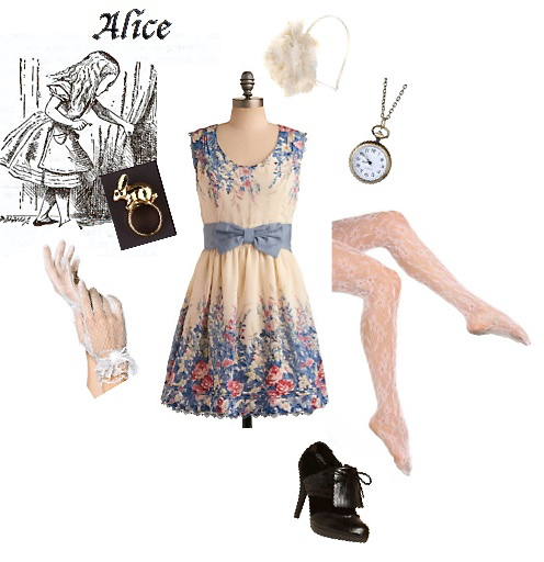 Style Inspiration Station: An Alice in Wonderland Themed ...