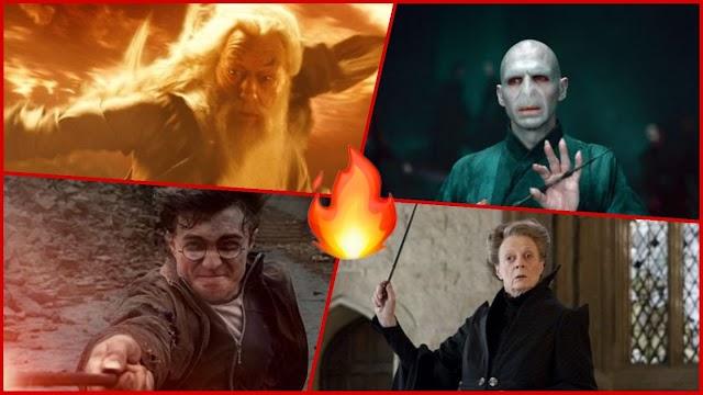 Harry Potter: personagens principais, classificados por habilidade de luta