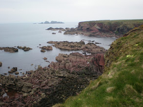 Photo: From Marloes Sands to Broad Haven (bkgrd: Stack Rocks)
