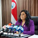 MINISTRA DE JUSTICIA Y PAZ EXPONE PRINCIPALES AFECTACIONES ANTE RECORTE PRESUPUESTARIO