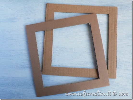 come fare cornice cartone e carta - tutorial by cafecreativo (3)