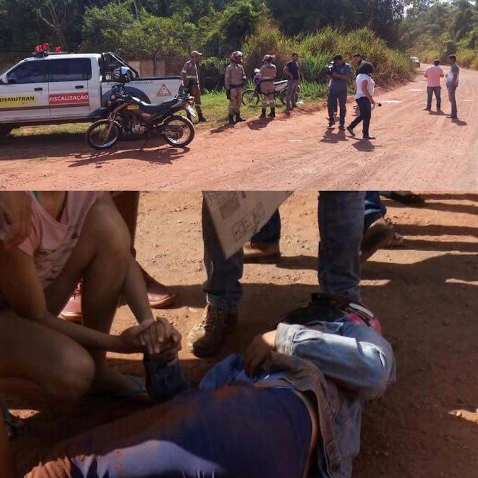 Estrada do Pedral: Batida entre motos deixa três feridos