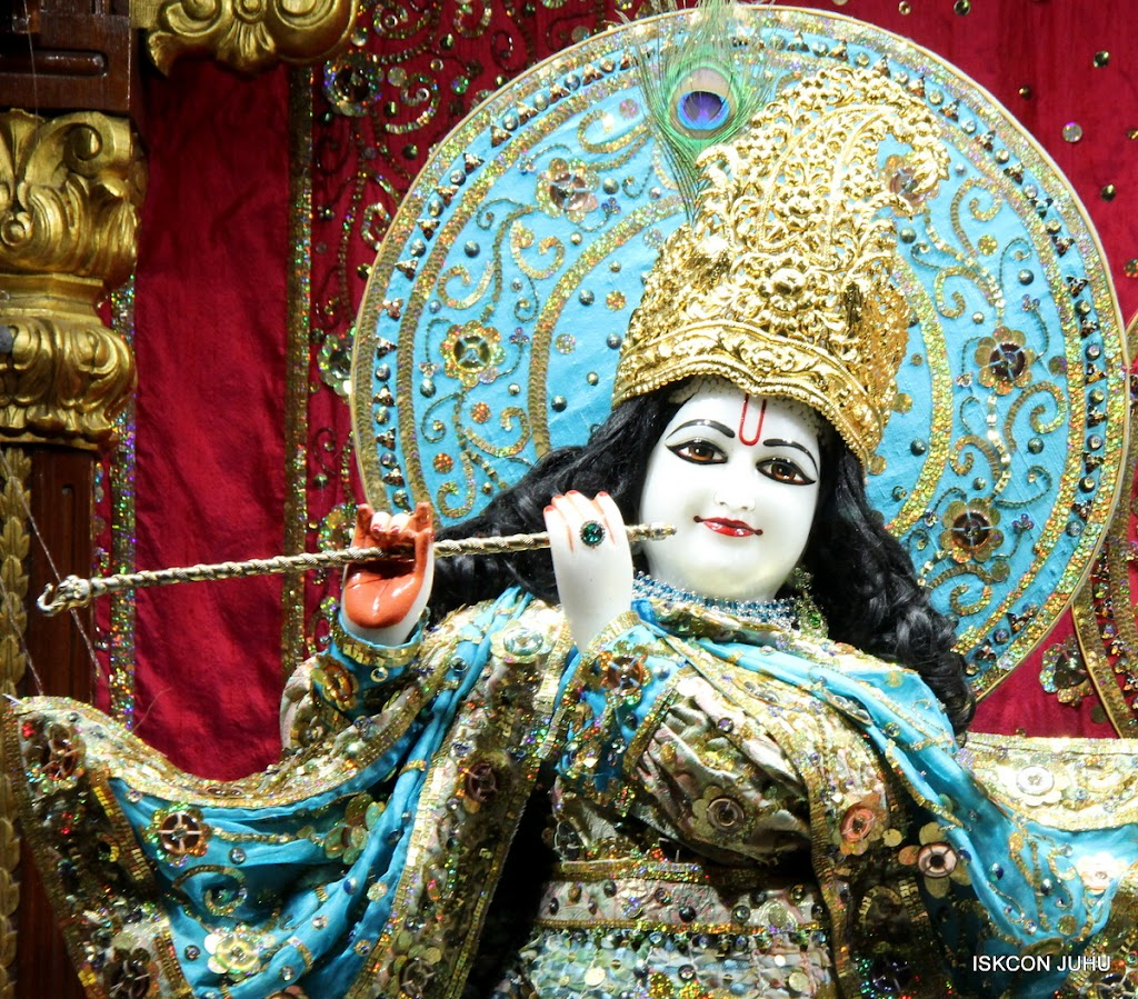 ISKCON Juhu Mangal Deity Darshan 11 Jan 2016  (15)