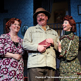 Debbie May, Robert Hegeman and Cindy Welch in ARSENIC AND OLD LACE (R) - May 2011.  Property of The Schenectady Civic Players Theater Archive.
