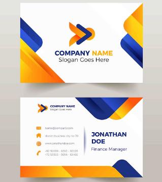 Membuat Kartu Nama Cocok untuk Manager | Templates Design Gratis