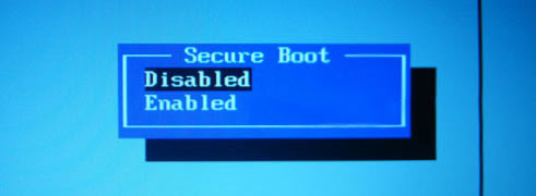 Samsung Secure Boot Disable