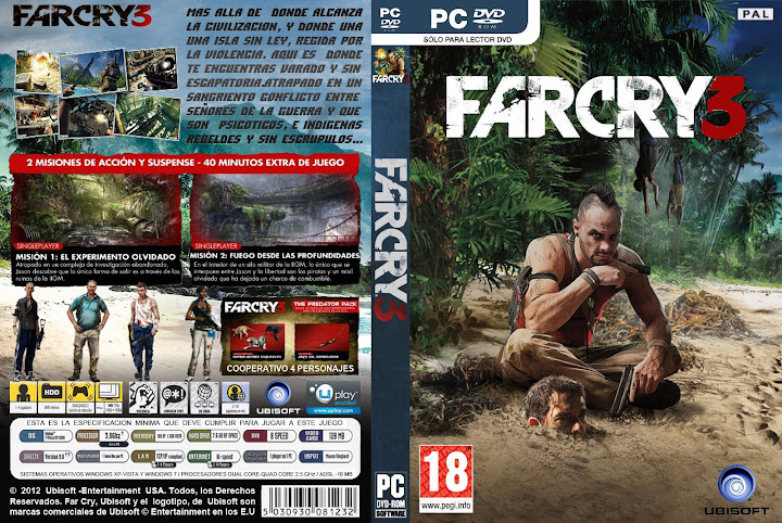FarCry 3 para PC [Black Box][1 Link]