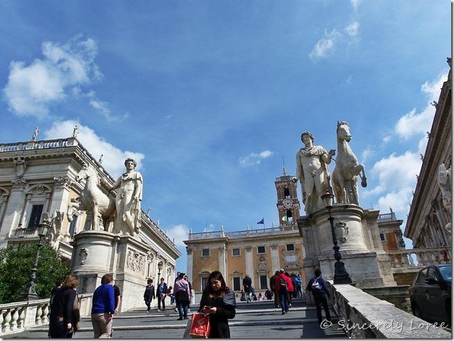 Cordonata, Capitoline Hill, Rome