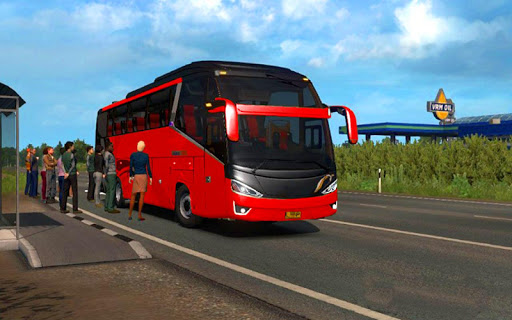 US Smart Coach Bus 3D: Free Driving Bus Games apktram screenshots 9