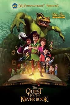 Baixar Filme Peter Pan À Procura do Livro do Nunca (2018) Dublado Torrent Grátis