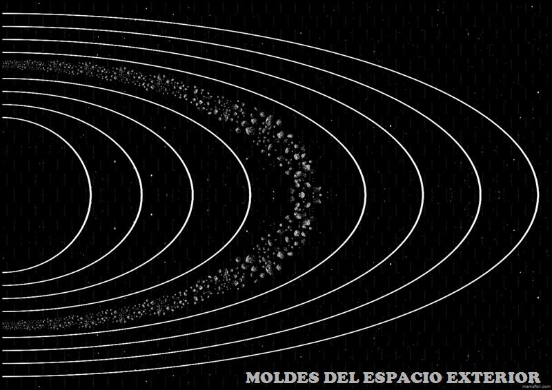 Imprimibles: Espacio Exterior del Sistema Solar