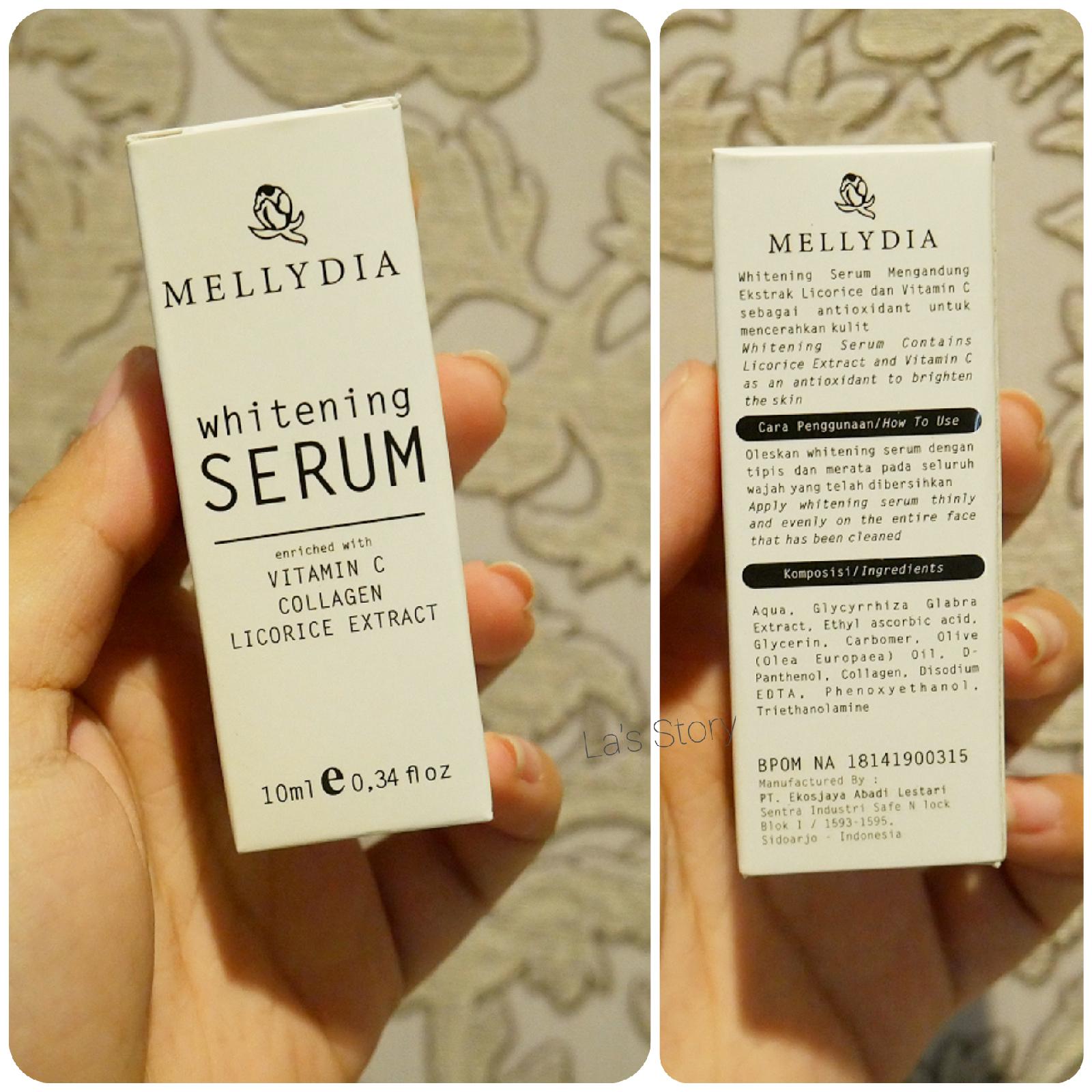 review-mellydia-skincare-whitening-serum