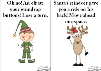 Christmastime Plurals cards