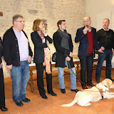 Remise chq association chien guide d'aveugle