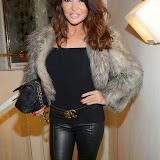 OIC - ENTSIMAGES.COM - Lizzie Cundy at the  Lizzie Cundy at The IVY Club London 18th February 2015  Photo Mobis Photos/OIC 0203 174 1069