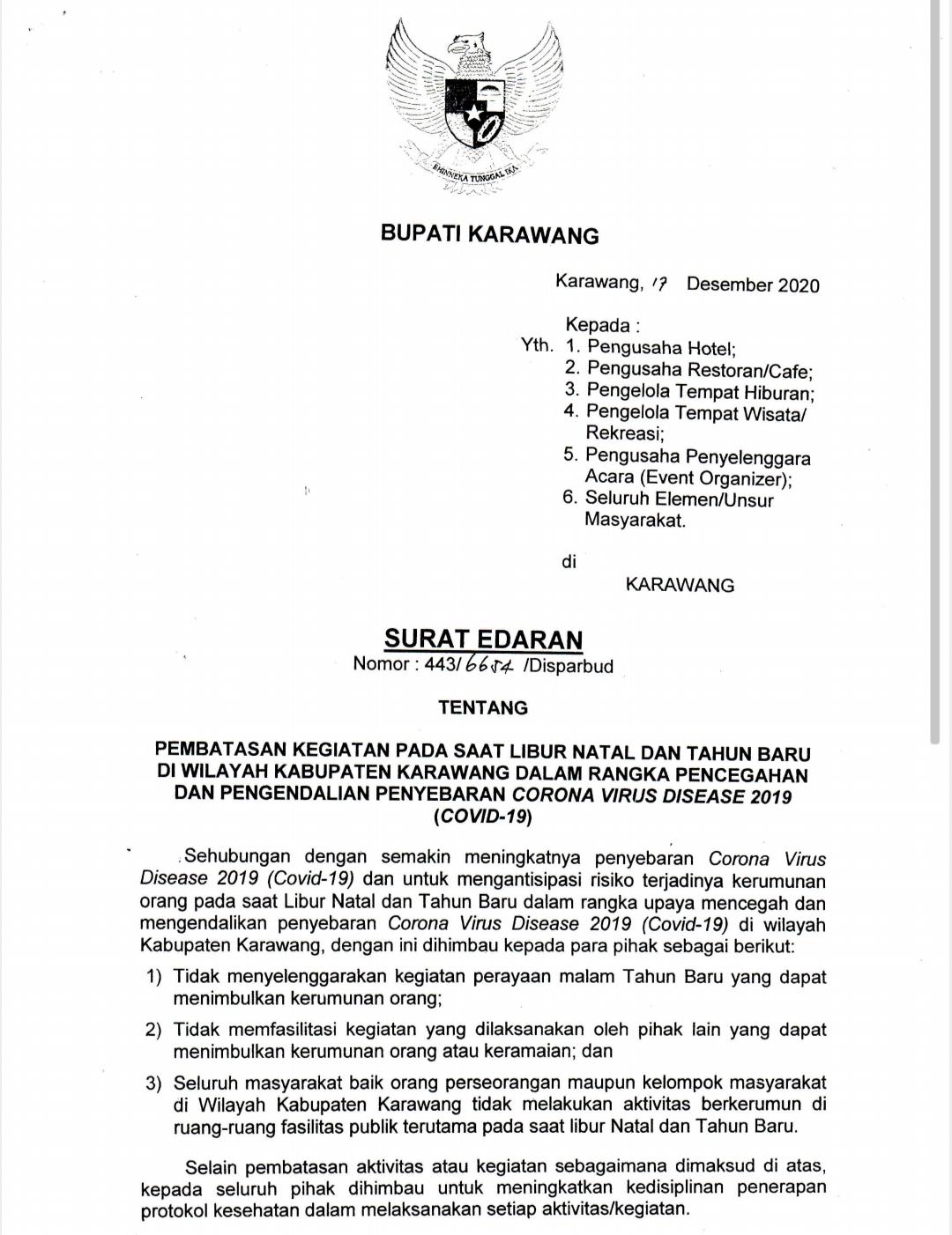 Surat Edaran Larangan Mudik 2021 - Kupas Tuntas Pemkot ...