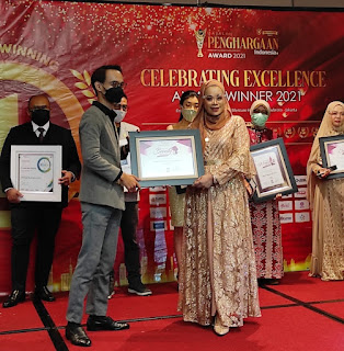 Rumah Syantik Sari Surya Mengukir Penghargaan Indonesia Best Beauty & Healthy 2021