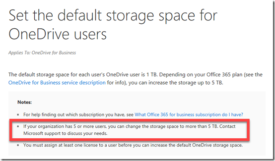 Pssst…want some free GBs in your OneDrive for Business? – CIAOPS