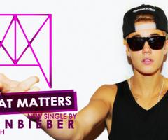 Mp3 Terbaru Justin Bieber - All That Matters XTRAMUSIK.COM