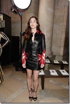 NEW YORK, NY - FEBRUARY 13:  Rainey Qualley attends the Front Row for the Philipp Plein Fall/Winter 2017/2018 Women's And Men's Fashion Show at The New York Public Library on February 13, 2017 in New York City.  (Photo by Andrew Toth/Getty Images for Philip Plein)