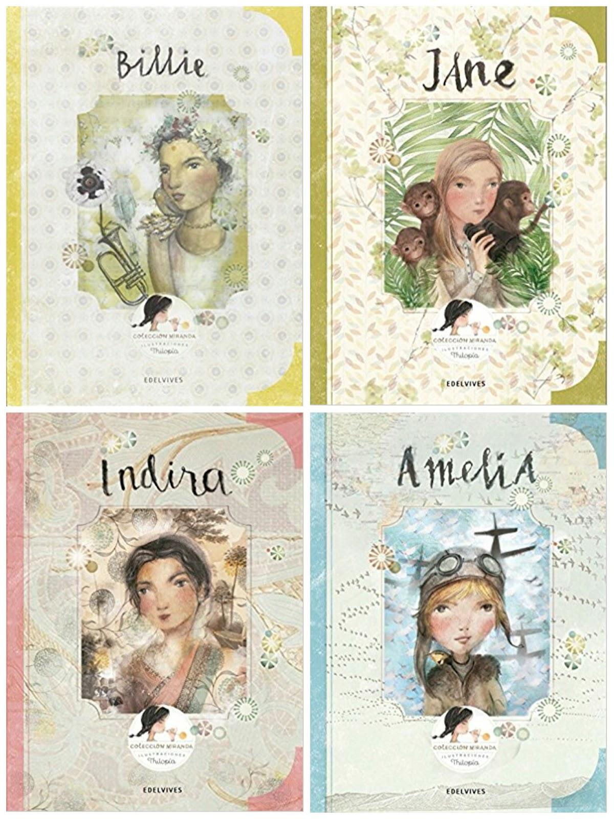 Colección Miranda, cuentos sobre mujeres de la historia