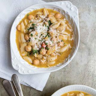 Chickpea and Cavatelli Soup Recipe