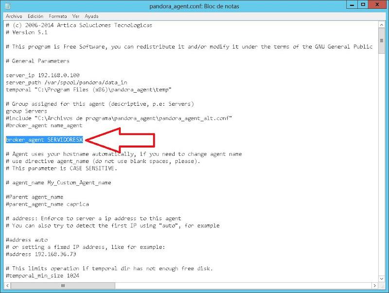 Crear broker Pandora FMS para monitorizar el servidor VMware ESXi desde otro equipo con PowerCLI