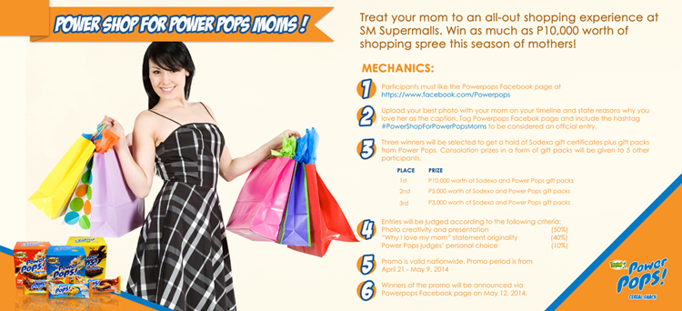 Power Pops Mother's Day Promo Mechanics