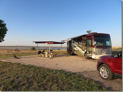 San Angelo State Park our site