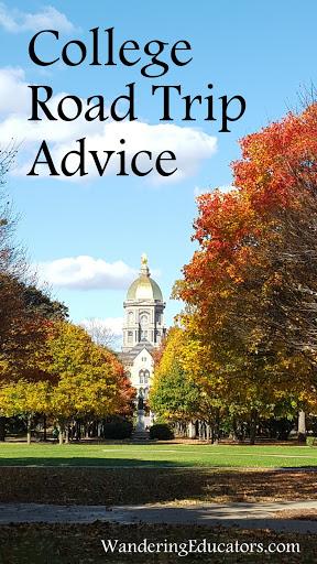 College Road Trip Advice