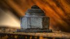 HDR: Schraube einer Baumaschine