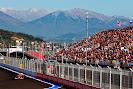 Kimi Raikkonen, Ferrari F14T with mountains
