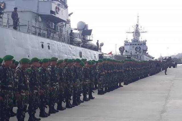 Besok, Tambahan 4 Kapal Militer Siap Usir Kapal China dari Natuna
