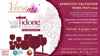 Valtidone Wine Fest milano 18 giugno