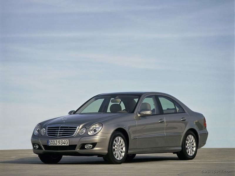 2008 mercedes benz e class diesel specifications pictures prices. Black Bedroom Furniture Sets. Home Design Ideas