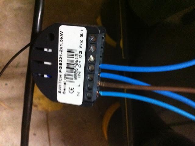 2 A relire : domotiser sa VMC avec un module fibaro FGS221