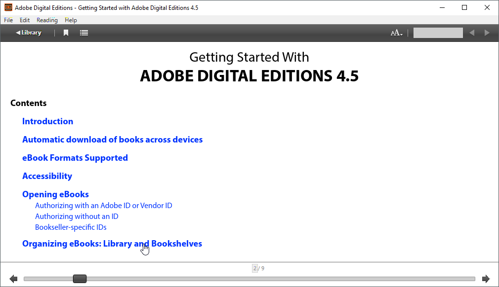 thumbapps.org Adobe Digital Editions portable, ebook content
