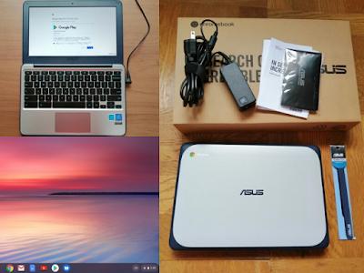 ASUS Chromebook C202SA-YS02、オークションで落札3つのポイント