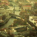 Cities Tilt Shift Photographs By Ben Thomas