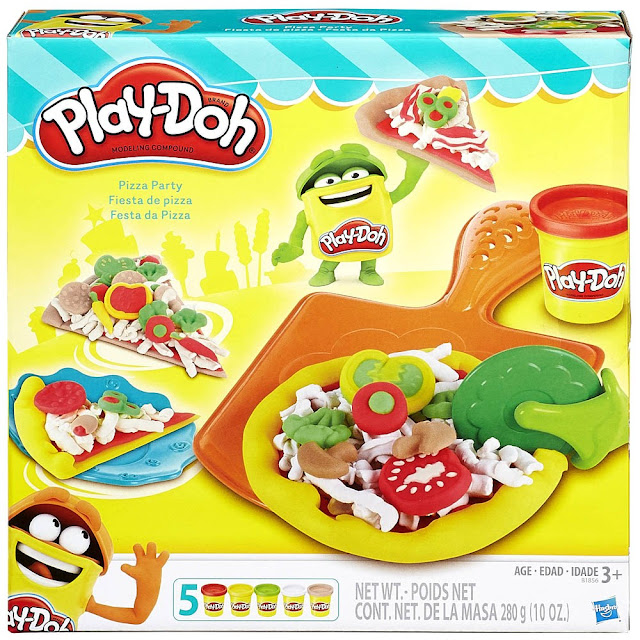 Đồ chơi Bột nặn bánh Pizza Play-doh Pizza Party