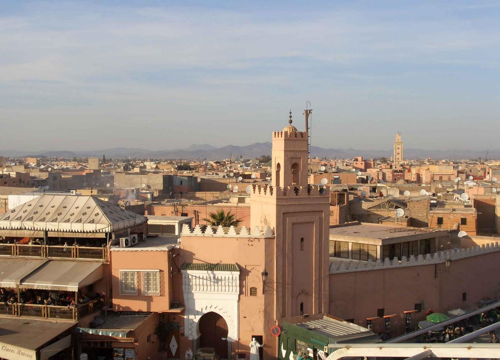The Moroccan Gazetteer Portrait Of Marrakech The Old Medina