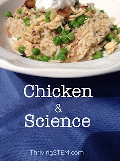 Cook dinner and enjoy some great science exploration at the same time!