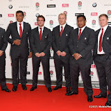 OIC - ENTSIMAGES.COM - Richard Wigglesworth, Luther Burrell, Lee Dickson, Matt Kvesic, Maco Vunipola and Chris Ashton at the  Carry Them Home - rugby dinner (Suits provide by Eden Park) at the Grosvenor House London 5th August 2015 Photo Mobis Photos/OIC 0203 174 1069